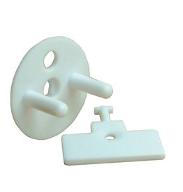 Dreambaby Dreambaby Keyed Outlet Plugs 9 Plugs - 3 Keys