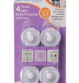 Dreambaby Dreambaby Mini Multi-Purpose Latches 4 Pack