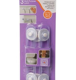 Dreambaby Dreambaby Multi Purpose Latch 3 Pack