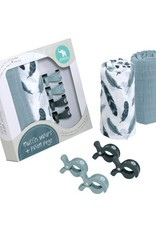 All4Ella All4Ella 2 Pack Wraps & 4 Pegs