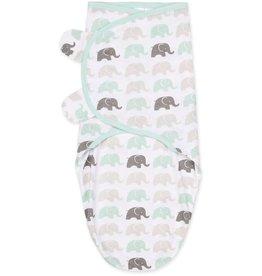 Little Haven Little Haven Multi Elephant Swaddle