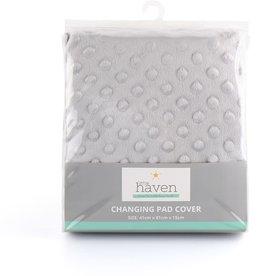 Little Haven Little Haven Dot Velour Change Pad Cover