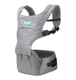 Moby Moby 2-in-1 Carrier + Hip Seat - Grey
