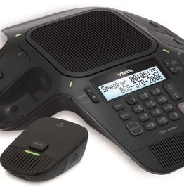 VTech VTech VCS702A ErisStation Conference Phone with 4 Wireless Microphones