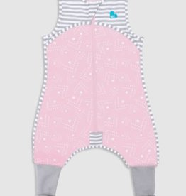 Love To Dream Love To Dream Sleep Suit - 0.2 TOG ( 2020 Design ) Pink - Spots and Arrows