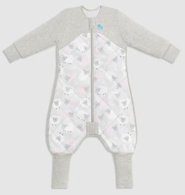 Love To Dream Love To Dream Sleep Suit with Organic Cotton and Australian Merino Wool  - 2.5 TOG Pink  - Bah Bah