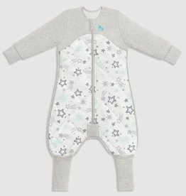 Love To Dream Love To Dream Sleep Suit with Organic Cotton and Australian Merino Wool  - 3.5 TOG Mint - Stars