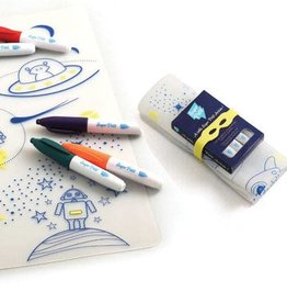 Superpetit Superpetit Tablemat sets Into the Space