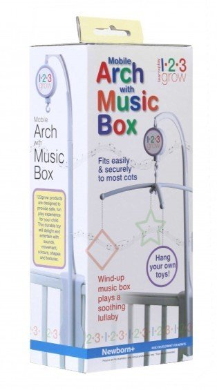 123Grow 123Grow Mobile Arch With Music Box