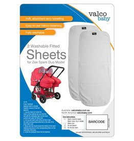 Valco Valco Spark Duo - Fitted sheet (Pack of 2)