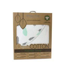 Bubba Blue Bubba Blue New Organic Feathers Hooded Towel