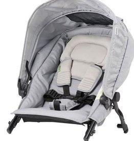 Steelcraft Steelcraft Strider Compact Deluxe Edition Second Seat Grey Linen