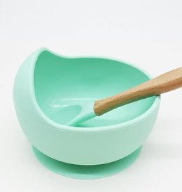 Becalm Baby Becalm Baby Silicone Suction Bowl and Spoon Set