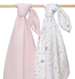 Living Textiles Living Textile 2-pack Muslin Wraps 100 x 100cm