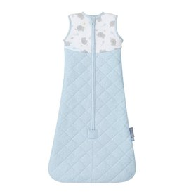 Living Textiles Living Textiles Quilted Sleeping Bag 2.5Tog - Mason Elephant