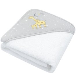 Living Textiles Living Textiles Hooded Towel (75 x 75cm) - Noah Giraffe