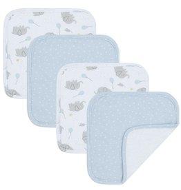 Living Textiles Living Textiles 4pk Face Washers - Mason/Confetti