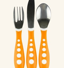 NUK NUK Steel Fork Knife And Spoon Set