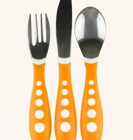 NUK NUK Steel Fork Knife And Spoon Set