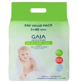 Gaia Gaia Bamboo Baby Wipes 240pk