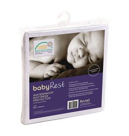 BabyRest Babyrest Waterproof Bassinette Mattress Protector 650x400mm