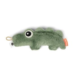Done ByDeer Done by Deer Tiny Sensory Rattle  Croco Green