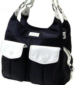 GR8X Gr8x Alice Shoulder Bag Black/cream (gr8x signature lining)