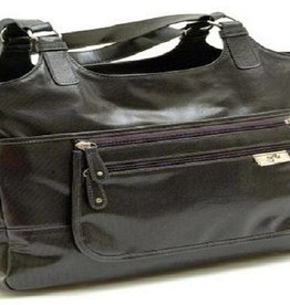 GR8X Gr8x Charlotte Tote PU canvass laminate Charcoal with gr8x signature lining