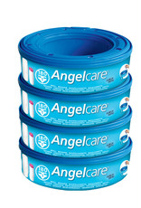 Angelcare Angelcare Nappy Disposal System Refill Cassettes (4 Pack)
