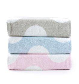 Bubba Blue Bubba Blue Polka Dots Velour Bath Towel