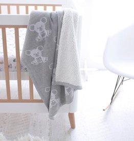 Bubba Blue Bubba Blue Aussie Animal Koala Knit Blanket