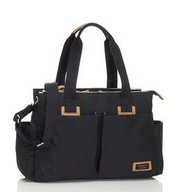 Storksak Storksak Travel Shoulder Bag Black