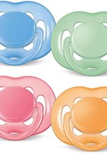 Avent Avent Free Flow Soother 0% Bpa 2Pk