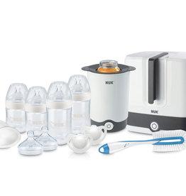 NUK Nuk Nature Sense 10pc Starter Feeding Set 0- 6 months