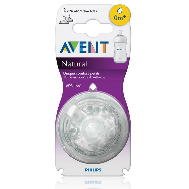 Avent Avent Natural Teat 2Pk