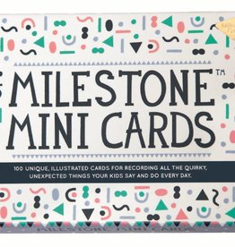 Milestone Milestone Mini Cards - 1 set