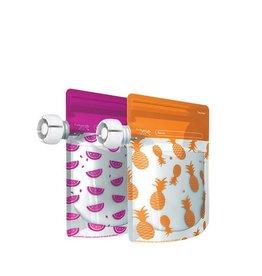 Cherub Baby Cherub Baby Re-usable Food Storage Pouch 10PK Special Edition