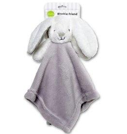 Playette Playette My Blankie Friend Bunny - White/Grey