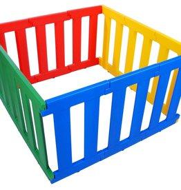 Tikk Tokk Tikk Tokk Nanny Panel Playpen - Multi Coloured