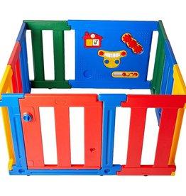 Tikk Tokk Tikk Tokk Advanced Nanny Panel Playpen Multi Coloured