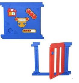 Tikk Tokk Tikk Tokk Advanced Nanny Panel Playpen Extension Kit (gate & Activity Panel) Multi Coloured