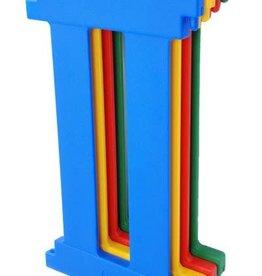Tikk Tokk Tikk Tokk Nanny Panel Extension Kit (4 panels) - Multi Coloured