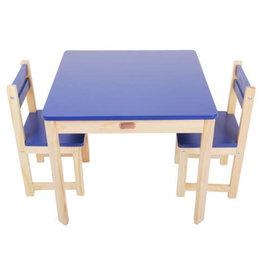Tikk Tokk Tikk Tokk Little Boss 3 Piece Square Table & Chair Set