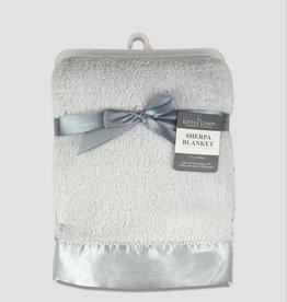 Little Linen Little Linen Sherpa Stroller Blanket