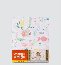 Weegoamigo Weegoamigo Cot Fitted Sheet