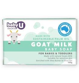Baby U Baby U Goats Milk Baby Soap 100g
