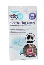 Baby U Baby U Potette Plus Disposable Liners 10pk