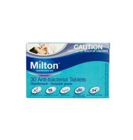 Milton Milton Antibacterial Tablets 30pk