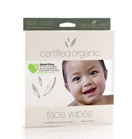 Natures Child Natures Child Face Wipes – 2 pack