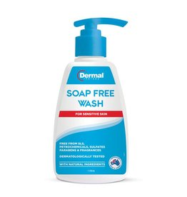 Dermal Dermal Soap Free Wash 1L